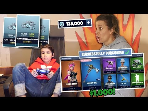 6 YEAR OLD Kid Spends $1,000 on FORTNITE with Mom's Credit Card *MUST WATCH*