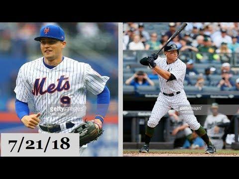 New York Mets vs New York Yankees Highlights || July 21, 2018