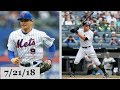 New York Mets vs New York Yankees Highlights    July 21, 2018