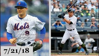 New York Mets vs New York Yankees Highlights || July 21, 2018