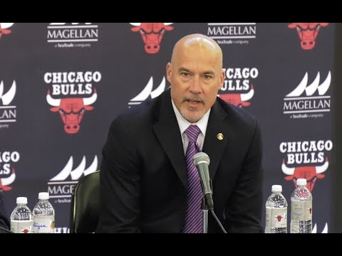 Chicago Bulls Press Conference