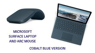 Microsoft Surface Laptop and Arc mouse in cobalt blue - i5/8GB/256GB