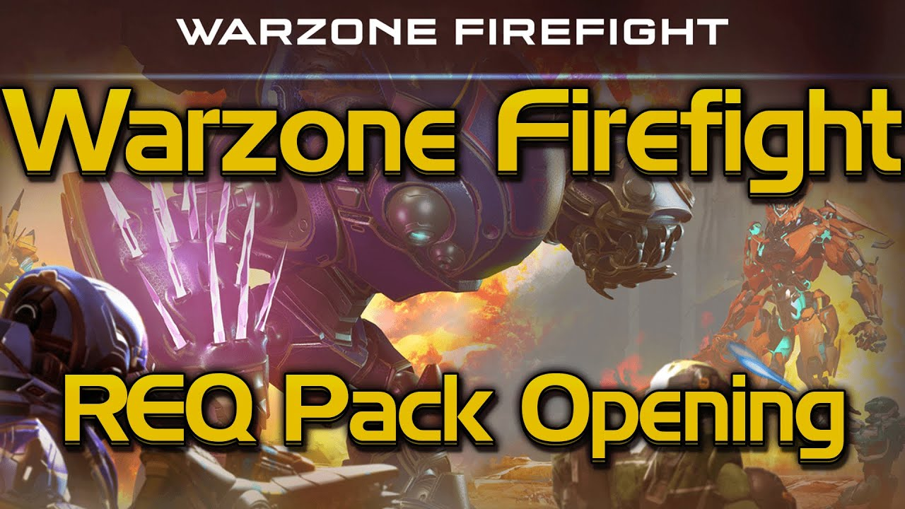 warzine firefight req pack guide