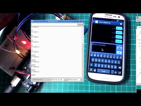 Controlling Arduino via SMS messages