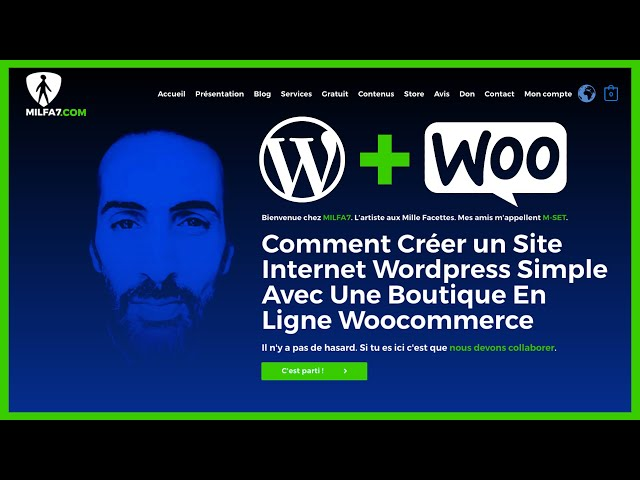 Comment créer un site internet simple ✨WORDPRESS✨ [2020] 😍  La Méthode ✨MILFA7✨ Tutoriel Complet