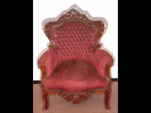 Texas houston Soft baroque chair. upholstered furniture