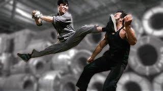 Донни Йен (Дракон Яу) против качка | Donnie Yen (Dragon Yau) vs bodybuilder