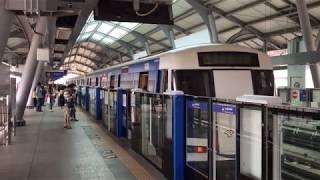 2020.1.1(水)13:18 供用開始間もないバンコク地下鉄ブルーライン終点のラックソン駅
