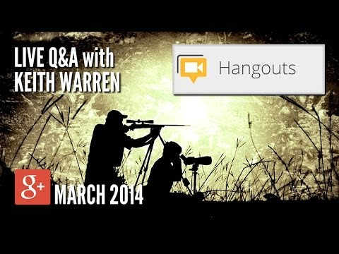 Keith Warren Inside the Blind - March 2014 Google+ Hangout