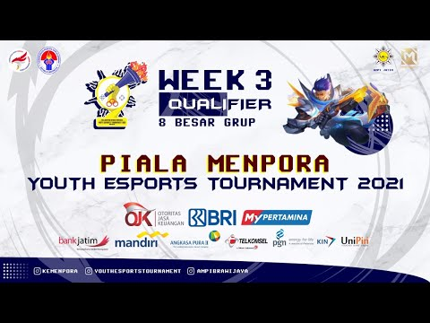 WEEK 3 | BABAK 8 BESAR GRUP - YOUTH ESPORTS TOURNAMENT PIALA MENPORA RI 2021