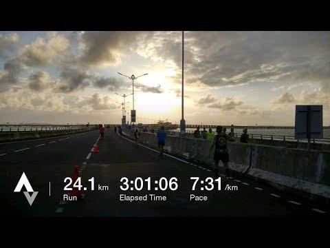 BCA Bali Run 2017 🏃 24K Running Map