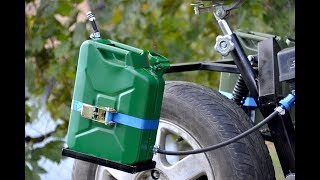 Homemade JERRY CAN - Fuel TANK ?