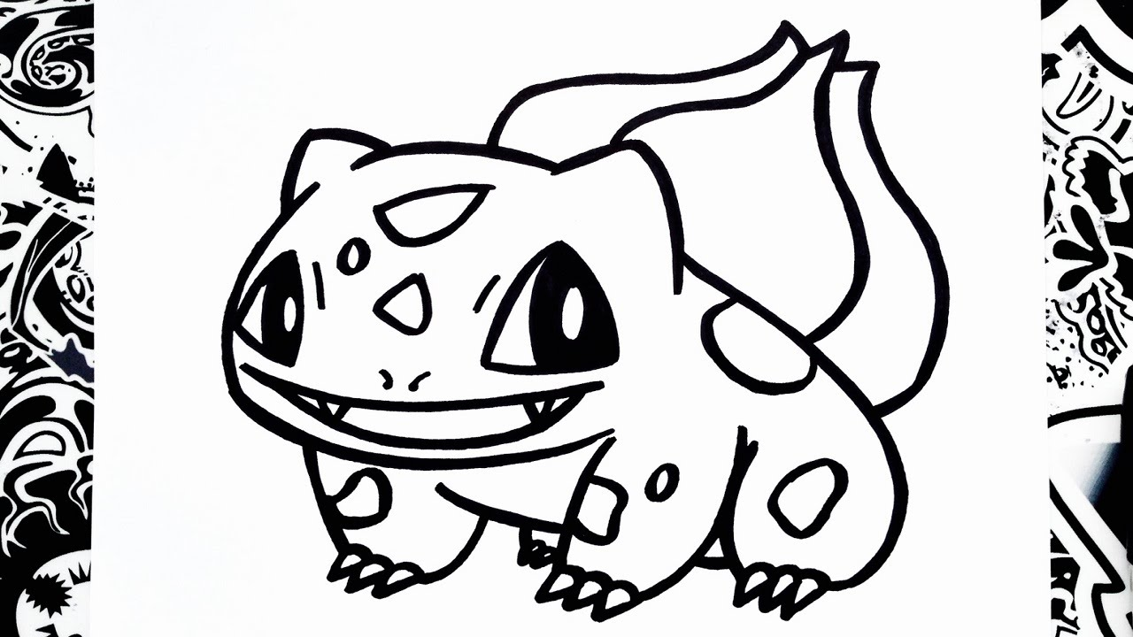 Dibujos Para Colorear De Charmander: How To Draw Bulbasaur - YouTube