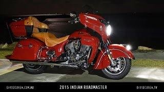 2015 Indian Roadmaster Test
