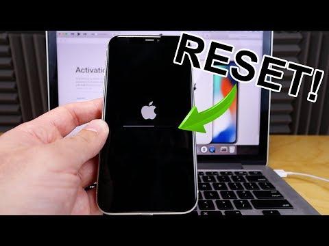 IPhone X,Xs,11 -  How To Hard Reset, Factory Reset (Forgot Password)