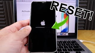 iPhone X,Xs,11 -  How to Hard Reset, Factory Reset (Forgot Password)