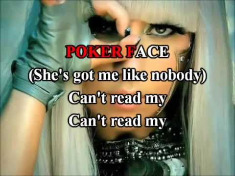 Lady Gaga - Poker Face Karaoke com back vocal