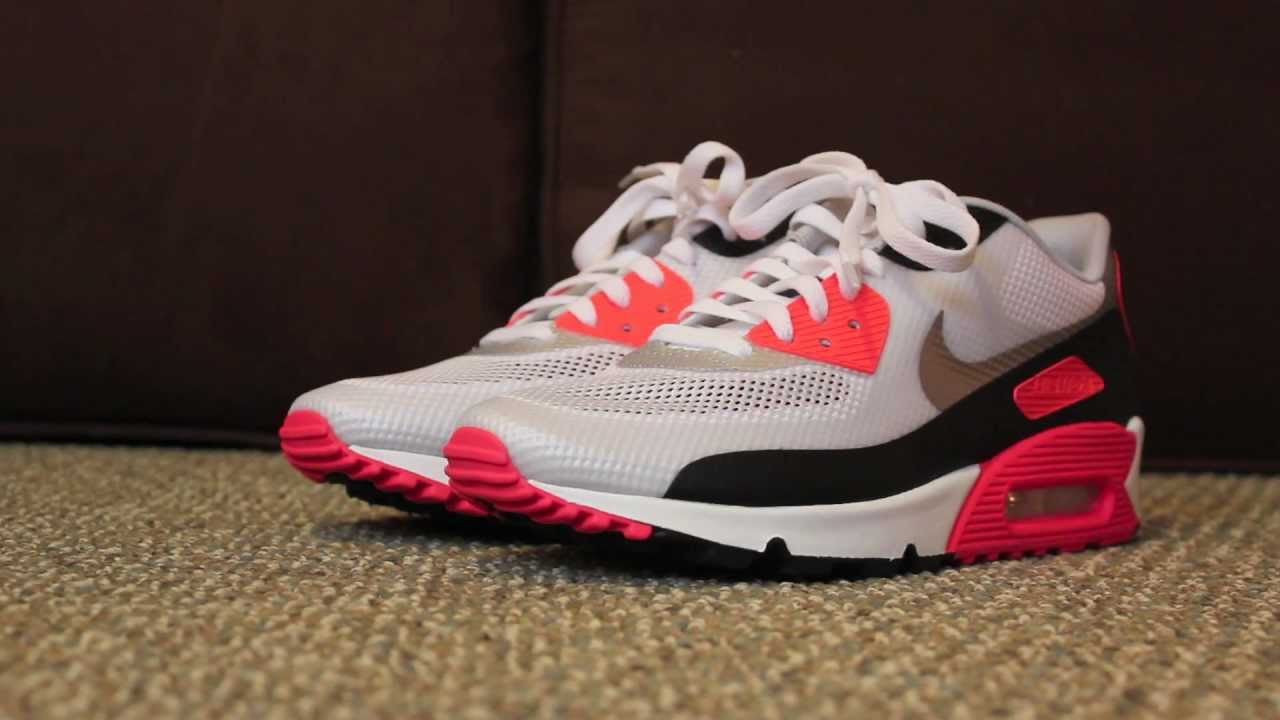 nike air max 90 and hyperfuse