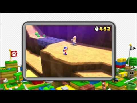 Super Mario 3D Land official Trailer