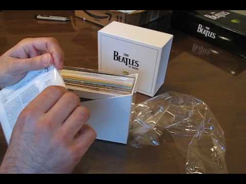 Beatles Mono Box Set Unboxing 10-21-09