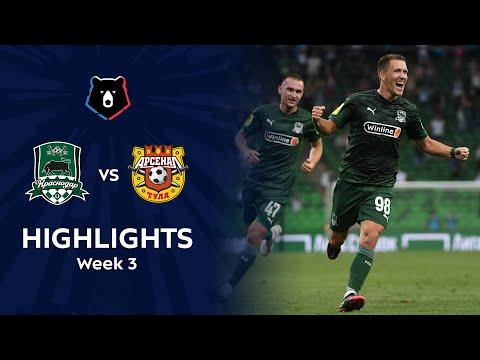 Krasnodar FK Arsenal Tula Goals And Highlights