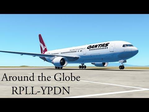 |Around the Globe| Manila to Darwin : Qantas, 767-300 [Episode 17]