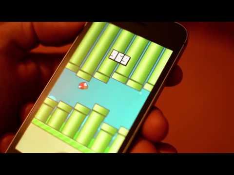 Парень набрал 999 очков в игре Flappy Bird