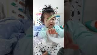 돌잡이 한글 놀이북 아기랑 놀기 최고~❤엄마가 더신난.…
