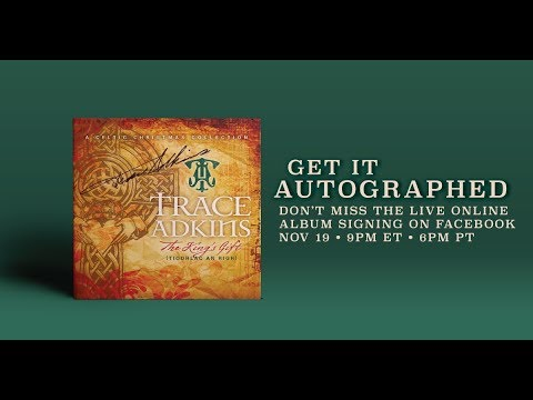 "Trace Adkins ""The King's Gift"" LiveSigning"
