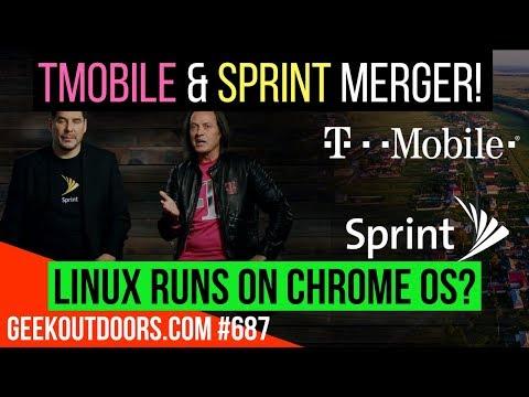 LIVE: T-Mobile & Sprint Merger, Linux Runs on Chrome OS? Q & A