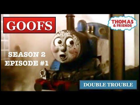 Goofs Found In Double Trouble (Season 2 Premiere)