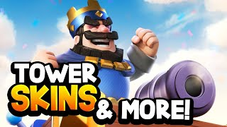 TOWER SKINS COMING to Clash Royale! Update News & State of The Game!