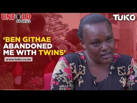 Ben Githae Abandoned Me With Twins | Tuko TV Mp3