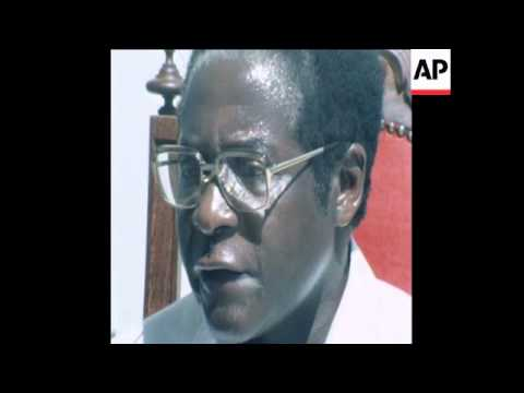 SYND 6/1/80 MUGABE INTERVIEW ON SOUTH AFRICAN TROOPS IN RHODESIA