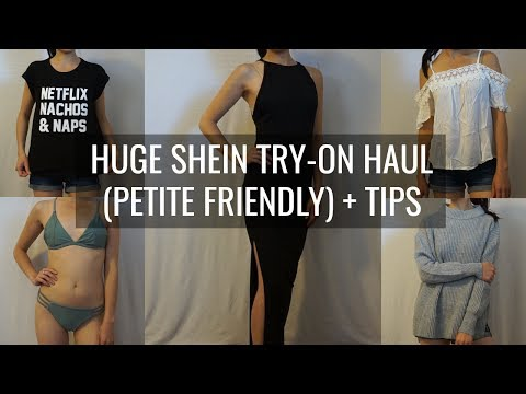 HUGE SHEIN TRY-ON HAUL (PETITE FRIENDLY) + TIPS