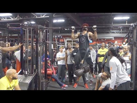 Weighted Pull ups Competition -  Blaq Ninja's Last Man Standing