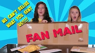CRAZIEST FAN MAIL EVER!!    Taylor and Vanessa