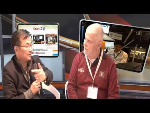 ISE 2014 Amsterdam , iStudio Demo with Mr.Wim Ouwerkerk about education