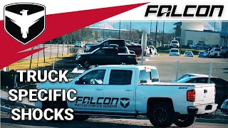 Falcon Shocks: Truck shocks are here!