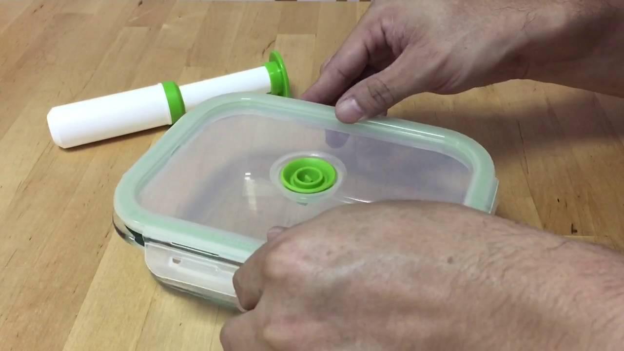 黑鼎真空保鮮盒使用介紹 - YouTube