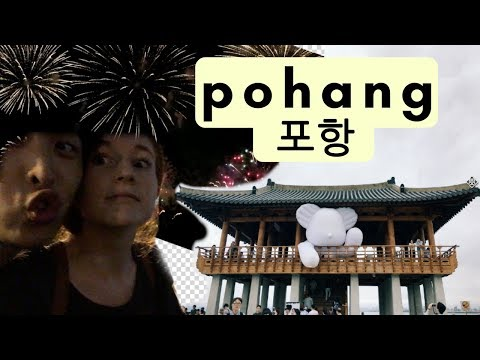 My Weekend in Pohang, Korea with My Boyfriend | Fireworks Festival