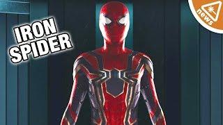 First Look at Infinity War Iron Spider's Confirmed Key Feature! (Nerdist News w/ Jessica Chobot)