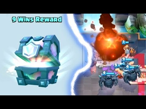 WIN A FREE LEGENDARY CHEST CHALLENGE   Clash Royale