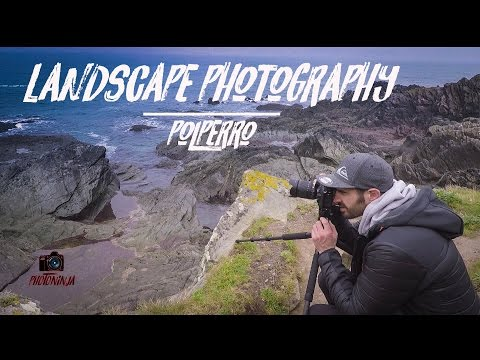 landscape Photography | Seascape searching In polperro | Nikon D7200