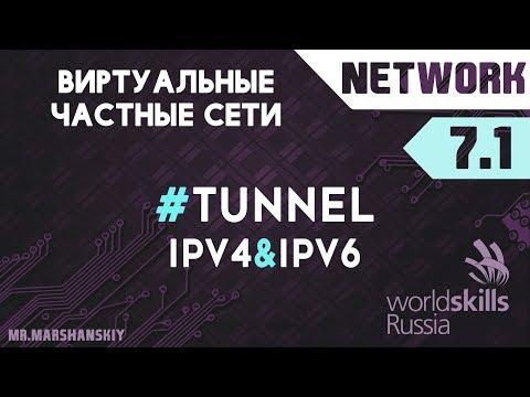 7.1. Настройка Tunnel GRE / Остров Network / WorldSkills
