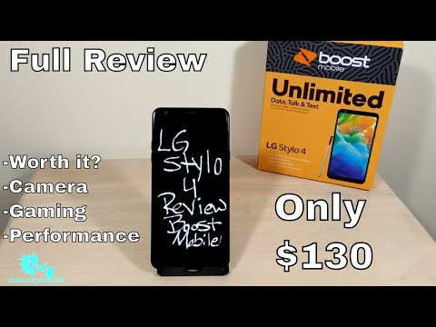 LG Stylo 4 Full Honest Review (Boost Mobile) Is It Worth It? HD