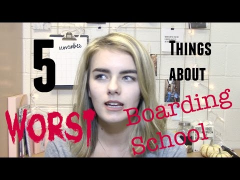 The 5 WORST Things About Boarding School