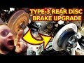 VW Type-3 Rear Disc Brake Install