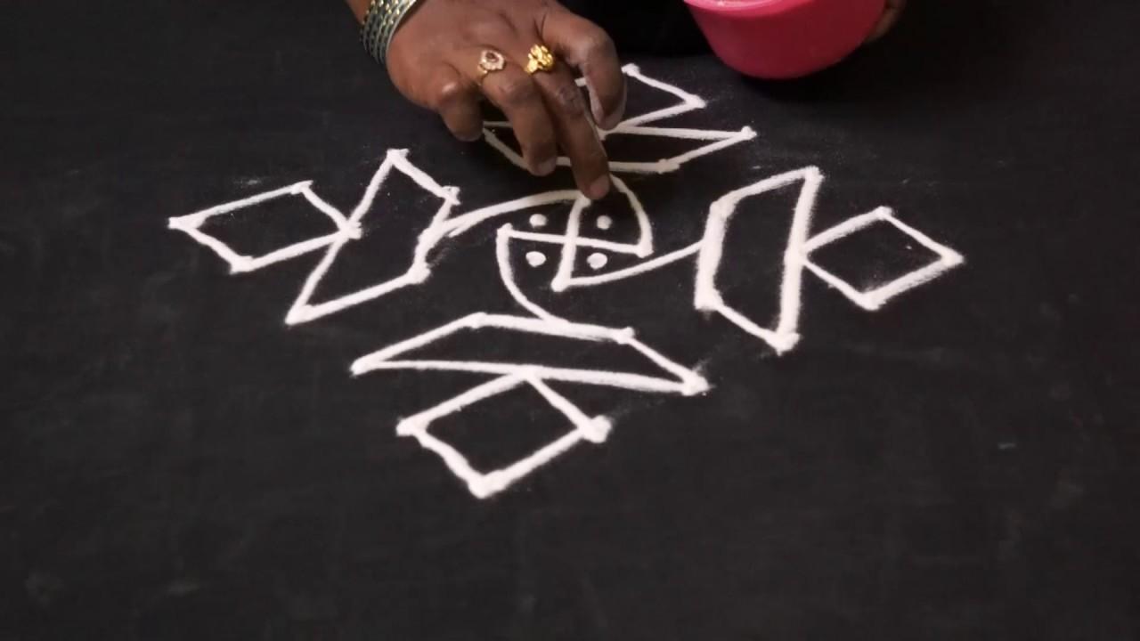 rangoli small easy designs latest rangoli designs freehand