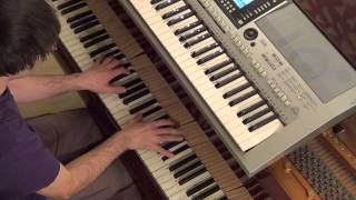 Pitbull Havana Brown AfroJack - Last Night piano & keyboard synth cover by LiveDjFlo